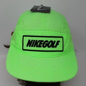 Nike Golf Men's Adjustable NWT Bright Green Ox Hat
